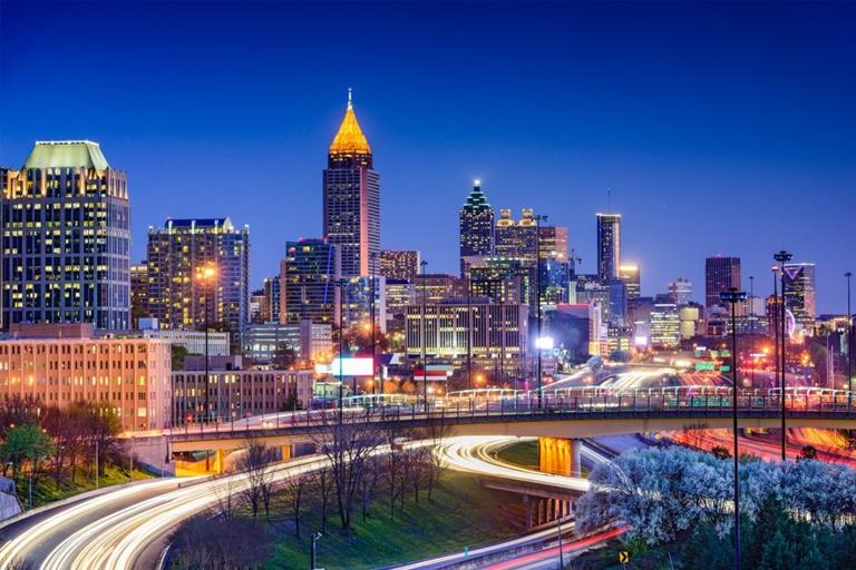 Georgia Commercial Insurance - Atlanta Skyline