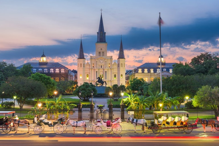Louisiana Commercial Insurance - Jackson Square New Orleans