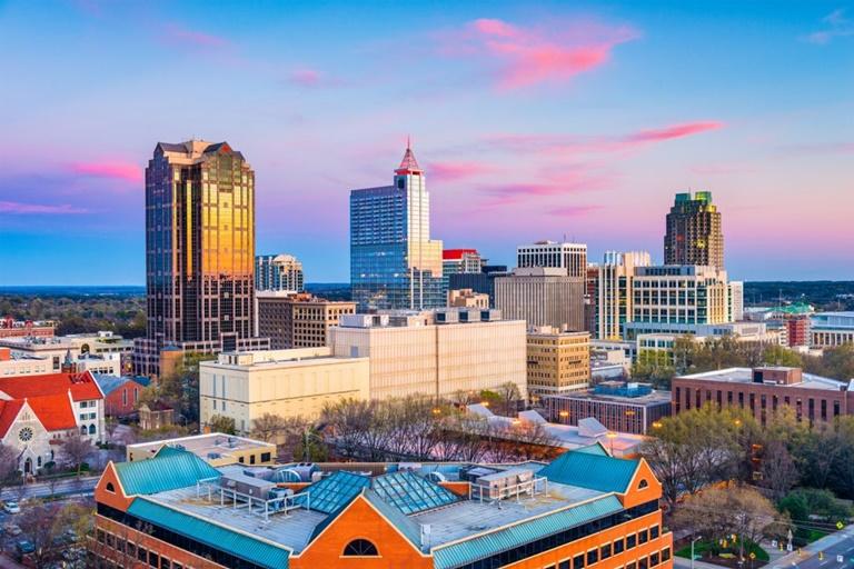 North Carolina Commercial Insurance -Raleigh Skyline